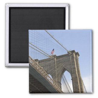 El puente de Brooklyn en New York City, nuevo Imanes