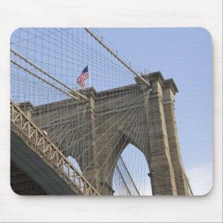 El puente de Brooklyn en New York City, nuevo Mouse Pad