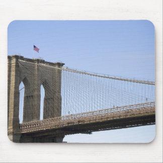 El puente de Brooklyn en New York City, nuevos 2 Tapetes De Raton