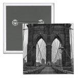 El puente de Brooklyn en New York City Pin