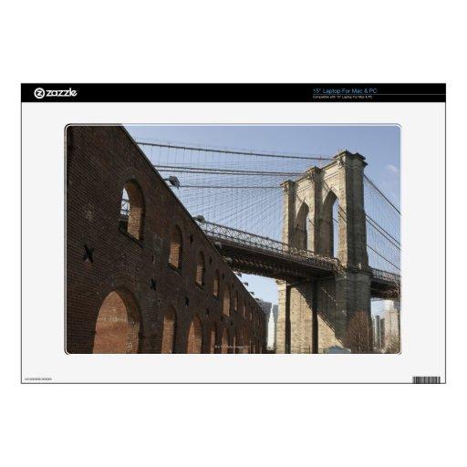El puente de Brooklyn Portátil Calcomanía