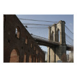 El puente de Brooklyn Póster
