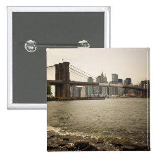 El puente de Brooklyn, visión desde Brooklyn Pins