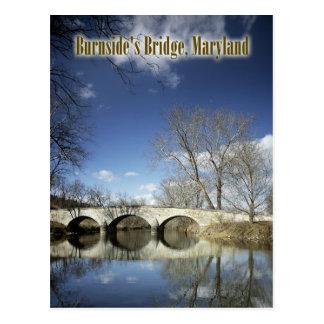 El puente de Burnside, campo de batalla del nacion Tarjetas Postales