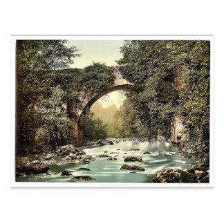 El puente de Dargle Co Wicklow Irlanda pH clási Tarjetas Postales