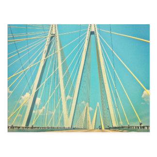 El puente de Fred Hartman Tarjeta Postal