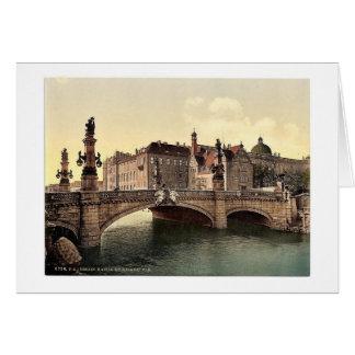 El puente de Guillermo del emperador, obra clásica Tarjetas