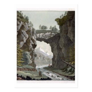 El puente de la roca, Virginia, de 'Le Costume Anc Postal