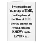 El puente de la tarjeta de fichar