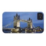 El puente de la torre en la oscuridad carcasa para iPhone 4