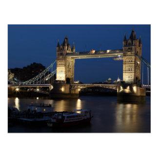 El puente de la torre Londres Postales