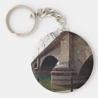 El puente de Londres en Lake Havasu pintó Llavero