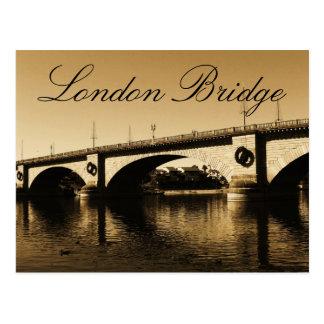 El puente de Londres Postales