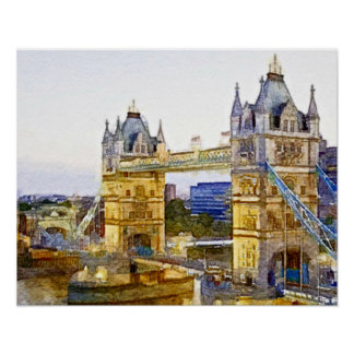 El puente de Londres Póster