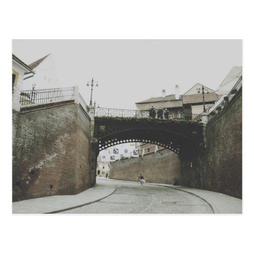 El puente de los mentirosos, Sibiu Tarjeta Postal