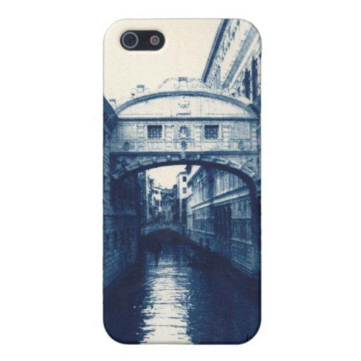 El puente de los suspiros Venecia iPhone 5 Cárcasa