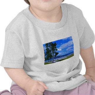 El puente de Mackinac Camisetas