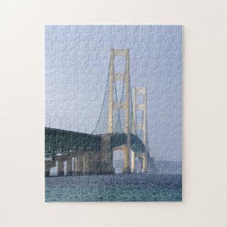 El puente de Mackinac Puzzle Con Fotos