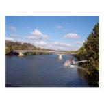 El puente de Ohio Tarjetas Postales