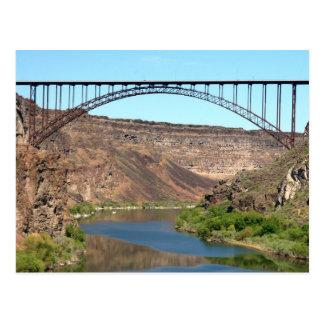 El puente de Perrine - caídas del gemelo, Idaho Postal