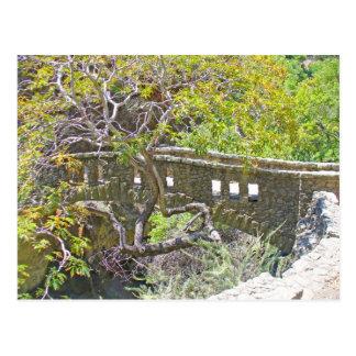 El puente de piedra tarjetas postales