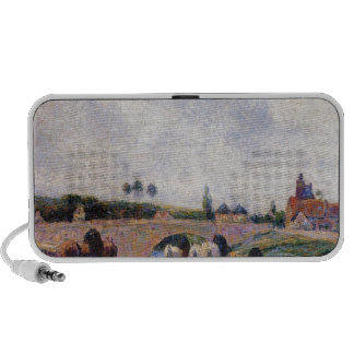 El puente de Pontoise de Camille Pissarro Mini Altavoz
