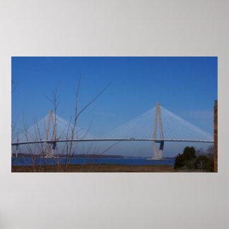 El puente de Ravenel Impresiones