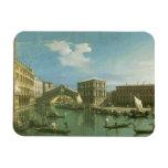 El puente de Rialto, Venecia Imán De Vinilo