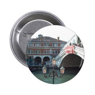 El puente de Rialto Venecia Pins