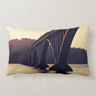 El Puente de Samaná Lumbar Pillow