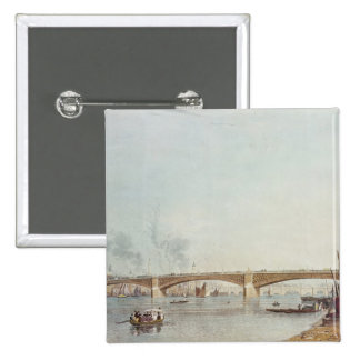 El puente de Southwark al oeste afronta de Banks Pin