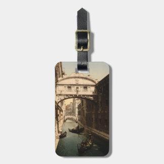 El puente de suspiros II, Venecia, Italia Etiquetas Para Maletas