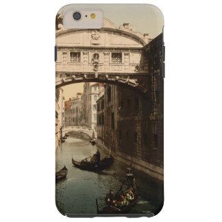El puente de suspiros II, Venecia, Italia Funda Para iPhone 6 Plus Tough