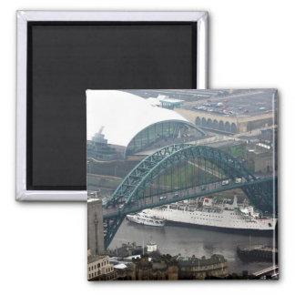 El puente de Tyne Imán De Frigorífico
