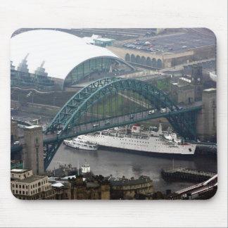 El puente de Tyne Mouse Pads