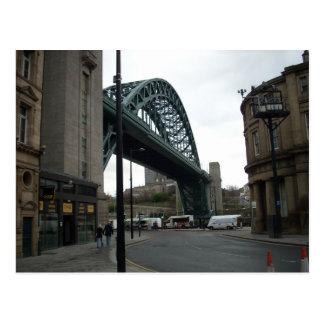 El puente de Tyne Tarjeta Postal