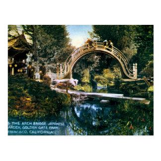 El puente del arco tarjeta postal