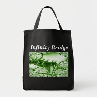 El puente del infinito lleva todo el bolso de tote bolsa
