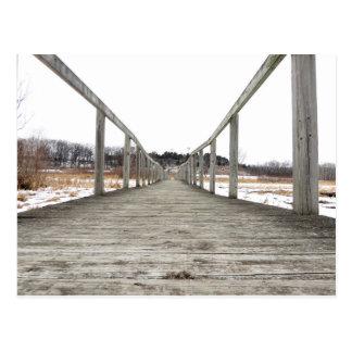 El puente del invierno postal