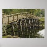 El puente del norte viejo, nacional minucioso del  poster