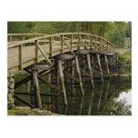 El puente del norte viejo, nacional minucioso del  tarjeta postal