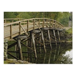 El puente del norte viejo nacional minucioso del tarjeta postal