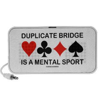 El puente duplicado es un deporte mental (los iPhone altavoces