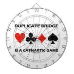 El puente duplicado es un juego catártico (el tablero de dardos