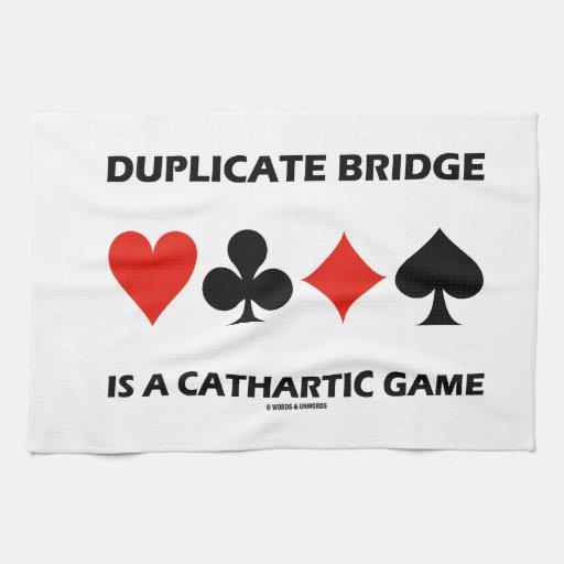 El puente duplicado es un juego catártico (el toalla