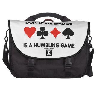 El puente duplicado es un juego que humilla (los j bolsas de portatil