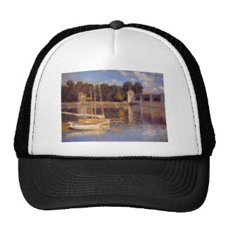 El puente en Argenteuil Claude Monet Gorros