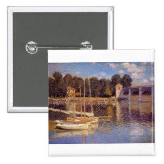 El puente en Argenteuil Claude Monet Pins
