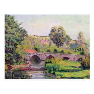 El puente en Boigneville, c.1894 Postales
