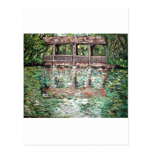 """""""El puente en Greynolds """" Postal"""